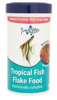 Tropical Fish Flakes with insect meal