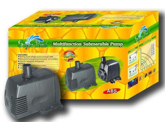 Super Pond Water Feature Pump 1800 lph